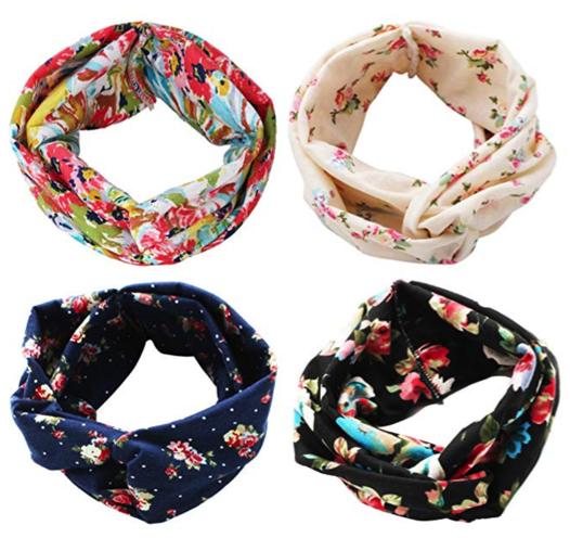 Boho Headbands -- beauty gifts or beauty stocking stuffers