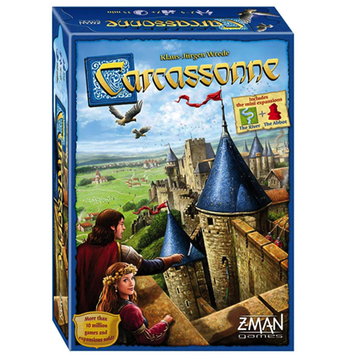 Gifts for Board Game Lovers: Carcassonne Game
