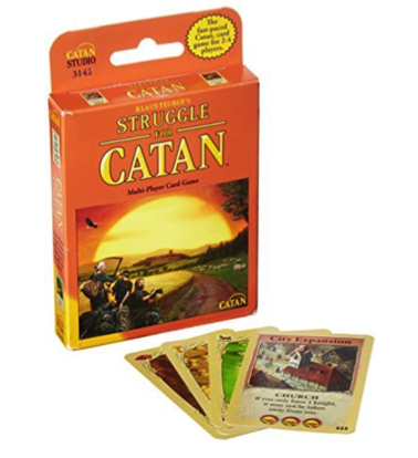Gifts for Board Game Lovers: Catan Card Game