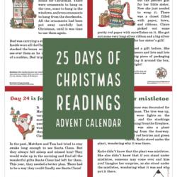Christmas Reading Educational Advent Calendar