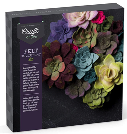 Felt Flowers Craft Kit