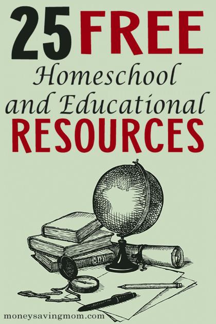 BIG List of Free Homeschool Curriculum