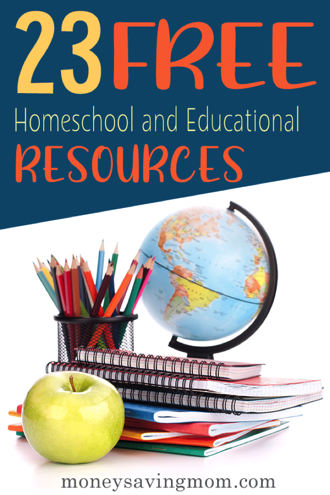 Free Homeschool Resources Image