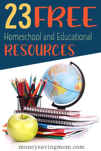 Free Homeschool Resources Image