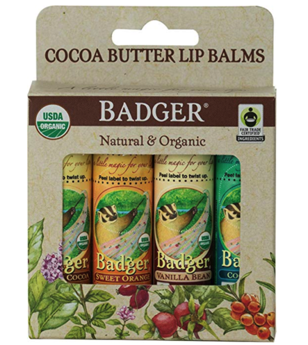 Gluten-Free Badger Lip Balms
