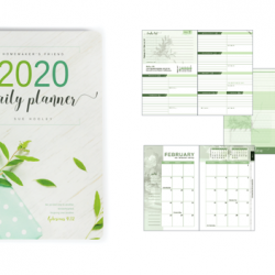 Homemaker's Friend 2020 Planner