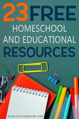 Homeschool Freebies Big List