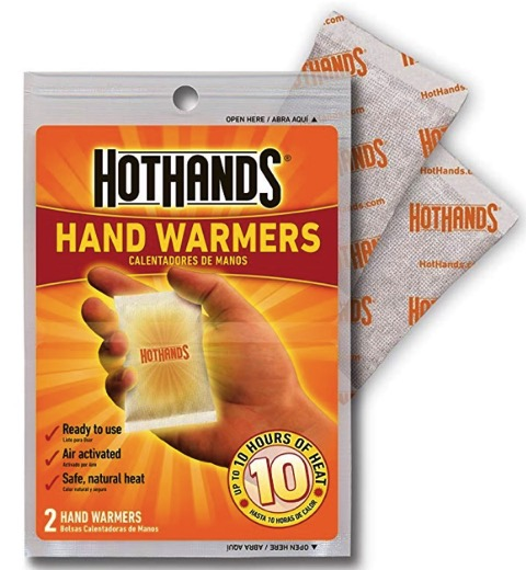 Hot Hands Hand Warmers for Outdoors
