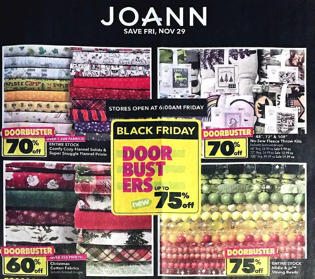 Joann Black Friday Ad