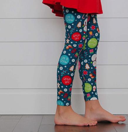 Kids Holiday Leggings