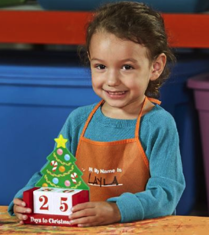 Kids Home Depot Workshop Christmas Countdown Calendar