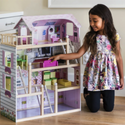 Kids Wooden Dollhouse