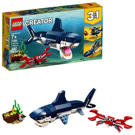 LEGO Gifts: Creator 3-in-1 Deep Sea Creatures