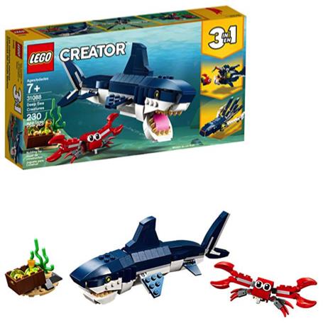 LEGO Gifts: Creator 3-in-1 Deep Sea Creatures