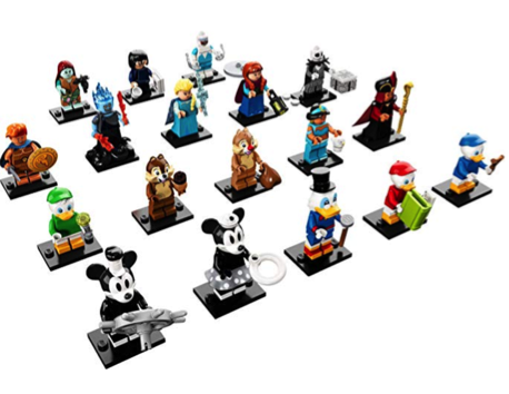 LEGO Disney Minifigures Stocking Stuffers