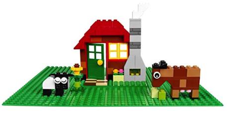 LEGO Green Base Plate Stocking Stuffer