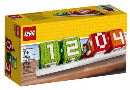 Unique LEGO Iconic Brick Calendar Gift