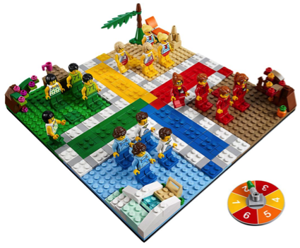 Unique LEGO Gift Ludo Board Game