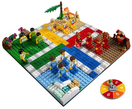 Unique LEGO Gift Ludo Board Game