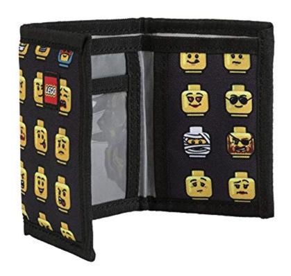LEGO Minifigure Wallet Stocking Stuffer