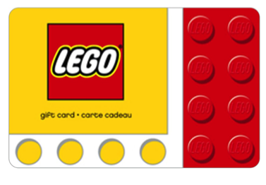 LEGO Store Gift Card Stocking Stuffer Idea