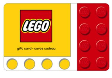 LEGO Store Gift Card Stocking Stuffer Idea