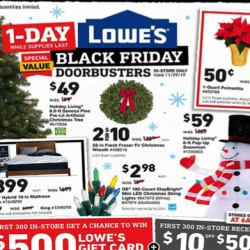 Lowe's Black Friday Ad