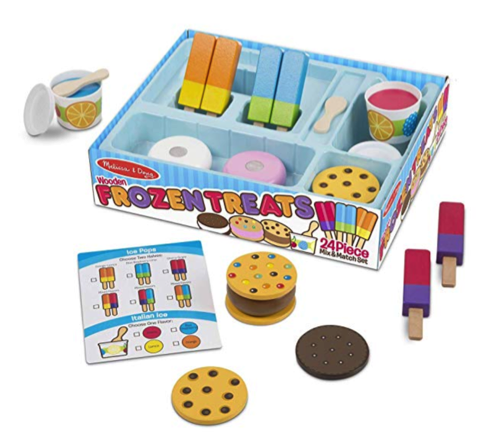 Melissa & Doug Ice Cream Treats Set