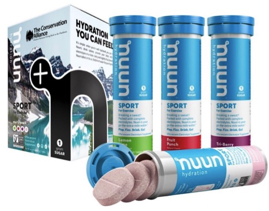 Nuum Hydration Tabs Outdoor Gifts