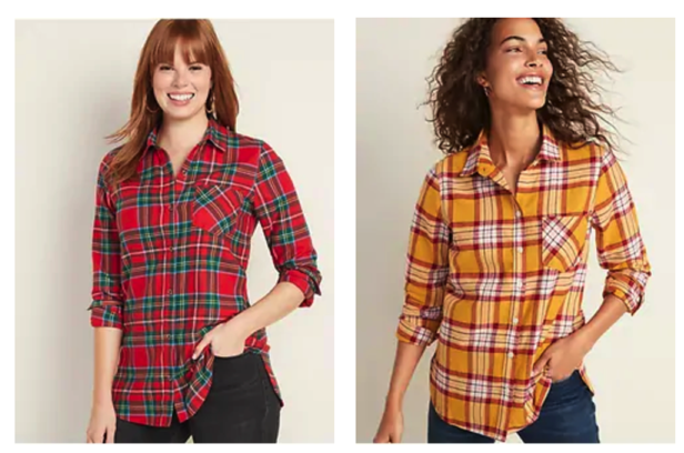 Old Navy Flannels