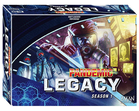 Board Game Gifts: Pandemic Legacy