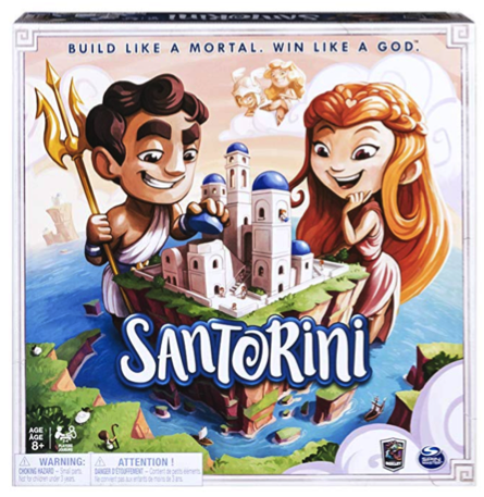 Gifts for Board Game Lovers: Santorini Game