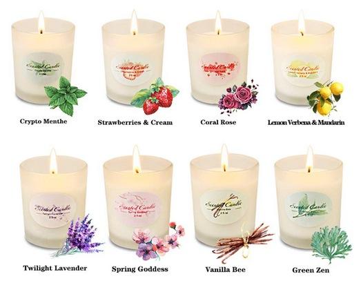 beauty stocking stuffer idea: mini soy candles