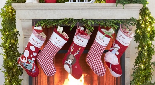 Pottery Barn Kids Personalized Christmas Stockings as Low as $5.99 Shipped