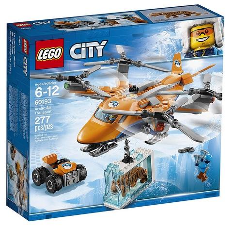 LEGO City Arctic Air Transport Building Kit