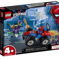 LEGO Marvel Spider-Man Car Chase 76133 Building Kit