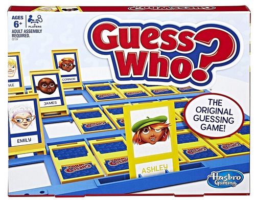 Guess Who Game Gift for Boys