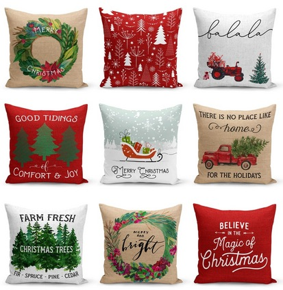 Farmhouse Christmas Pillow Collection