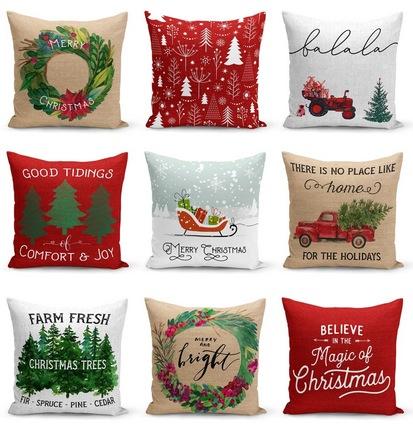 Farmhouse Christmas Pillow Collection