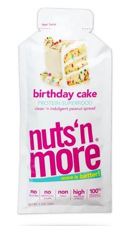 FREE Sample of Birthday Cake High Protein Peanut Spread
