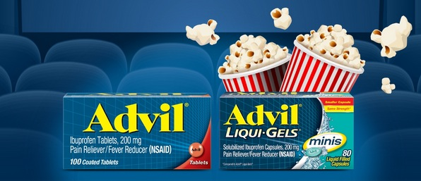 FREE $13 Fandango Movie Ticket w/ Advil Purchase