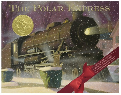 Polar Express 30th Anniversary Edition Hardcover Book