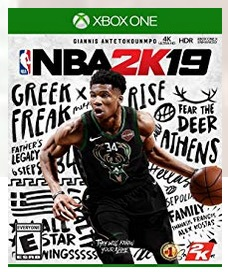NBA 2K19 Xbox One or PS4 Game