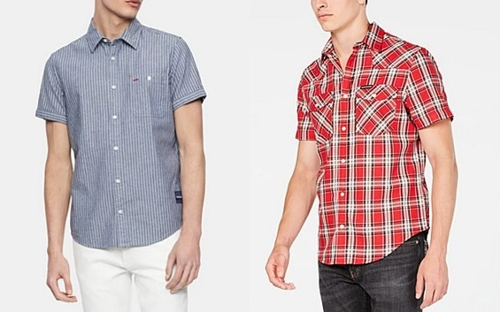 Men's Calvin Klein Button-Down Shirts