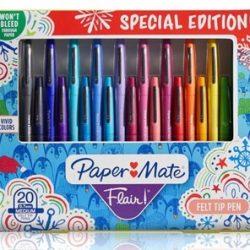 Paper Mate Flair Felt Tip Pen 20 Piece Set
