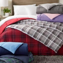 Martha Stewart Collection Essentials Reversible Down Alternative Comforter