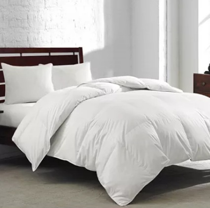 Royal Luxe White Goose Feather Down Comforter