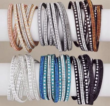 Studded Wrap Bracelets