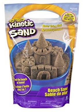 Kinetic Sand 3 Pounds Beach Sand
