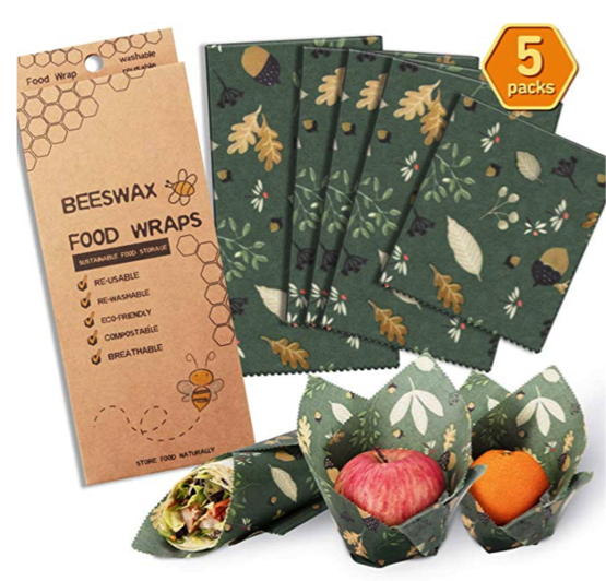 eco-friendly gift ideas: Beeswax Food Wraps